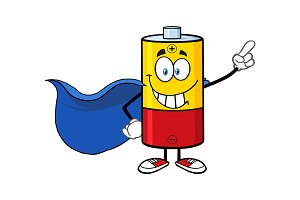 Battery clipart strong battery. Free download clip art