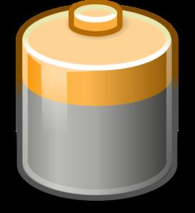 Battery clipart transparent background. Clip art at clker