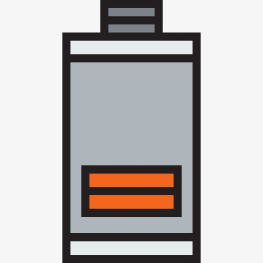 Grid charged symbol phone. Battery clipart two