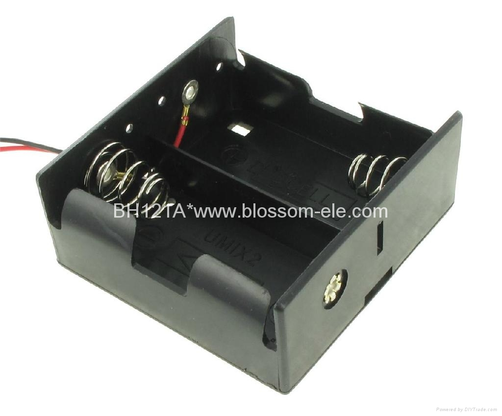Battery clipart two.  d holder bh