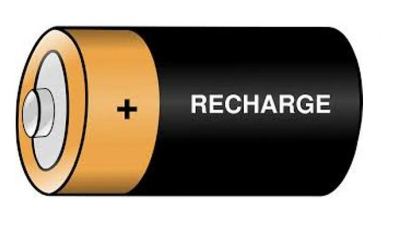 Researchers aim at developing. Battery clipart two