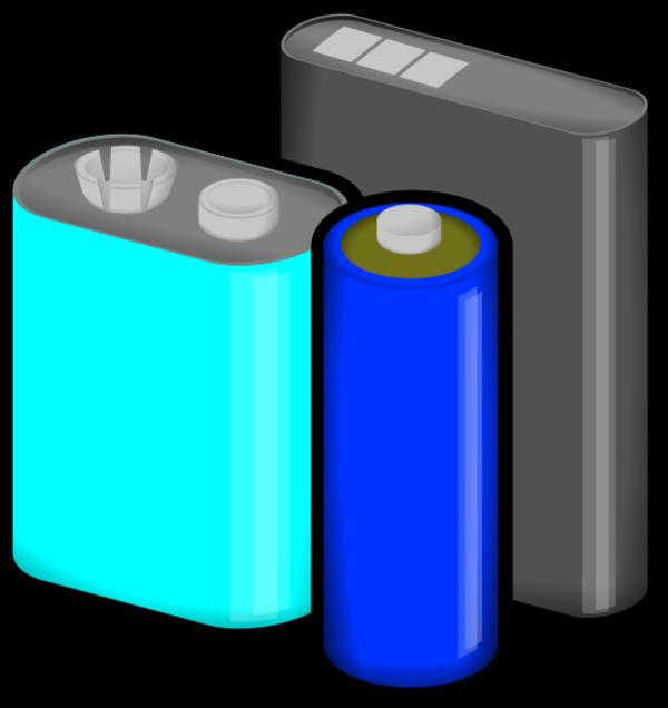 batteries clipartlook. Battery clipart vector