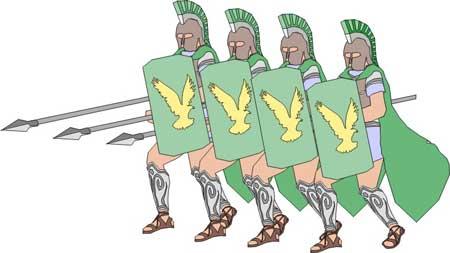Major battles in greek. Battle clipart ancient battle