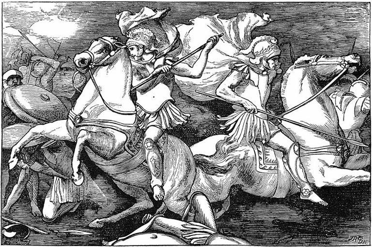 Battle clipart ancient battle. Wars of the roman