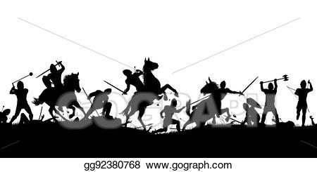 battle clipart battle scene