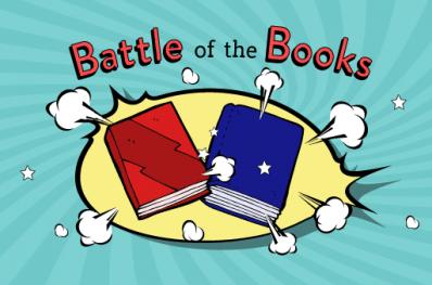 Battle clipart book. Local luminaries to participate