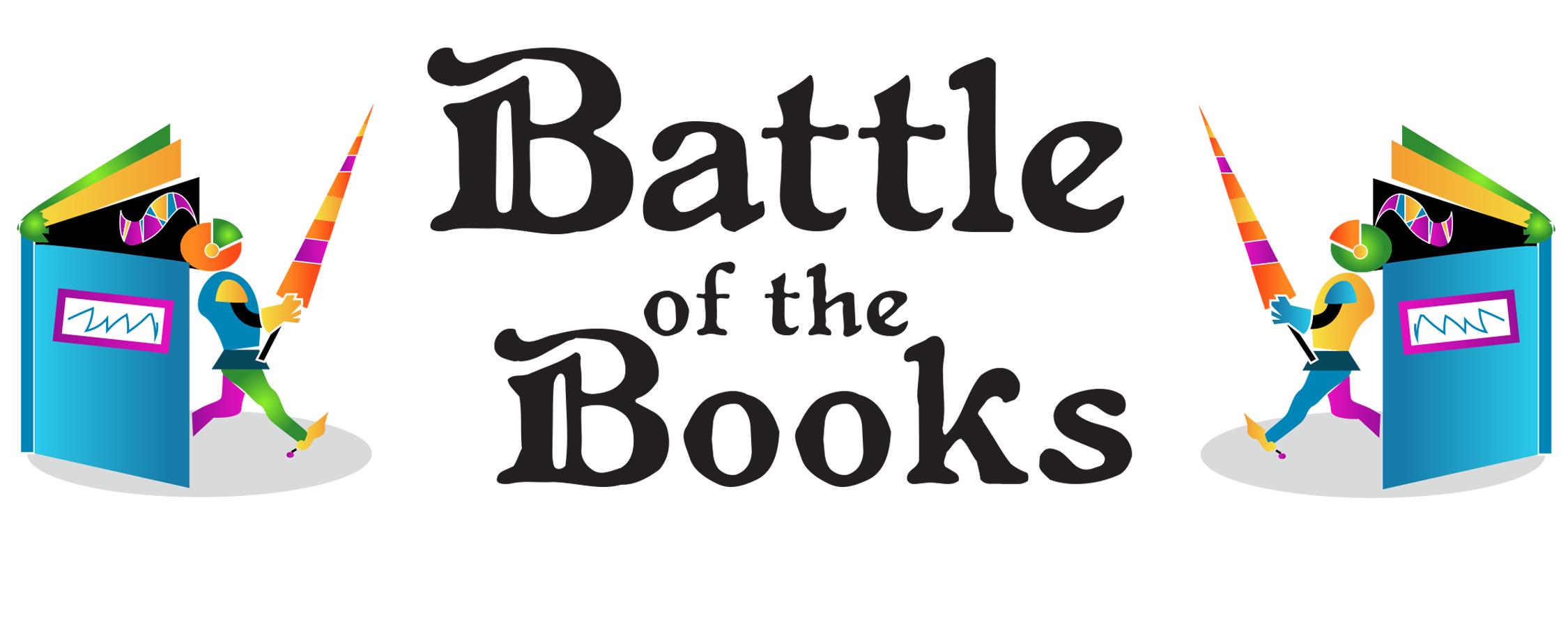 Of the books bull. Battle clipart book