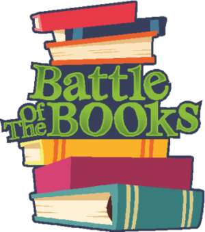 Of the books station. Battle clipart book