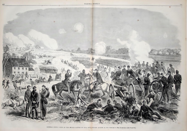 Socal civil war lessons. Battle clipart bull run