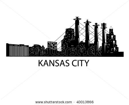 Battle clipart cityscape. Downtown kansas city skyline