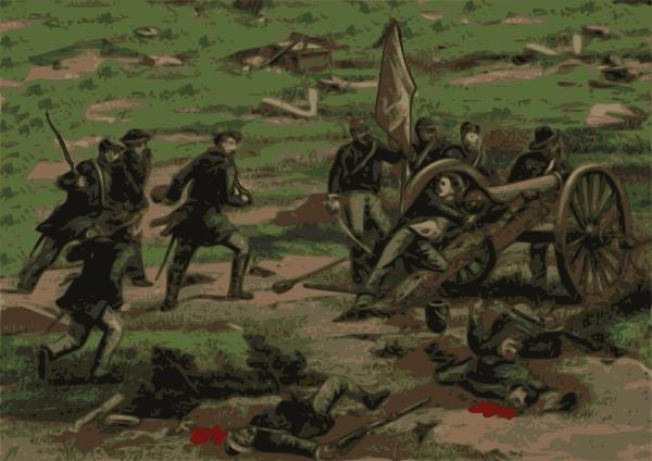 Clip art at clker. Battle clipart civil war battle