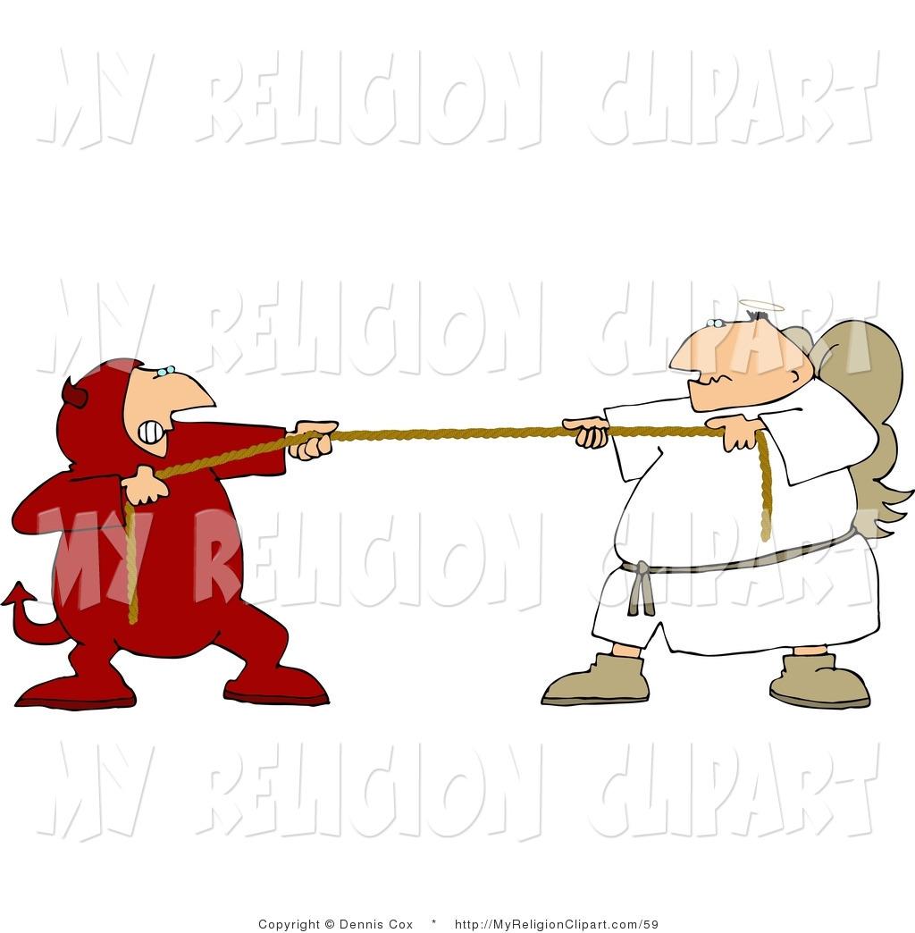 Religion of a tug. Battle clipart clip art