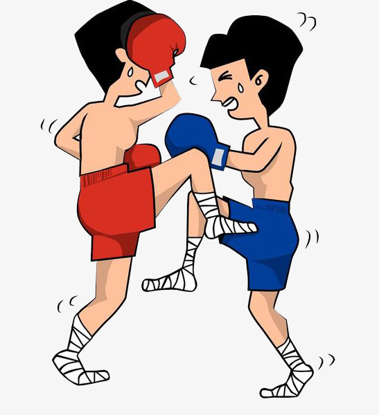 boys boxing pk. Battle clipart combat
