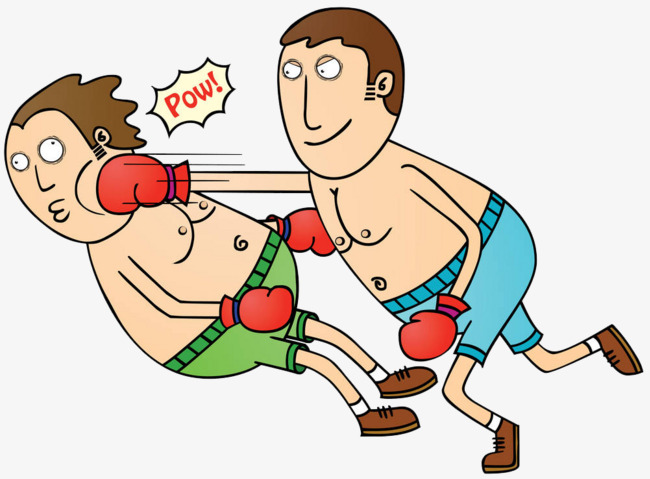 Battle clipart combat. Boxing against beating people