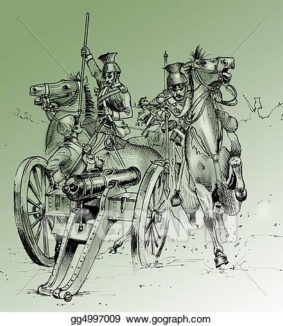 Battle clipart crimean war. Stock illustration scene from