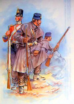 Battle clipart crimean war. British infantry at the