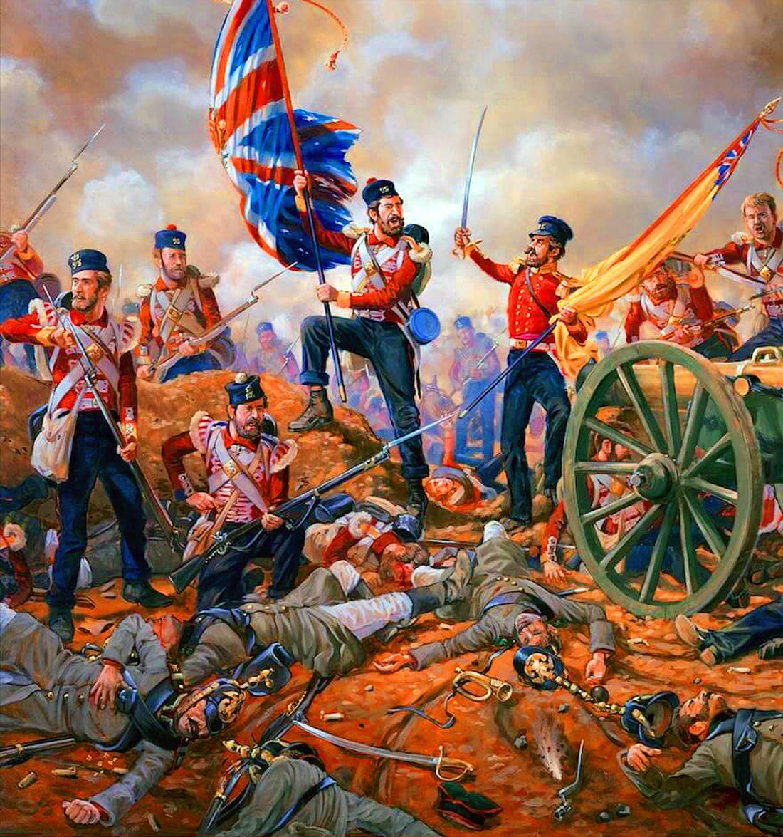 British th derbyshire regiment. Battle clipart crimean war