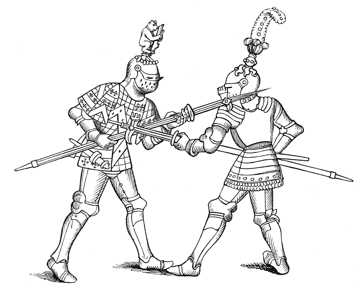 Battle clipart drawing. Medieval king at getdrawings