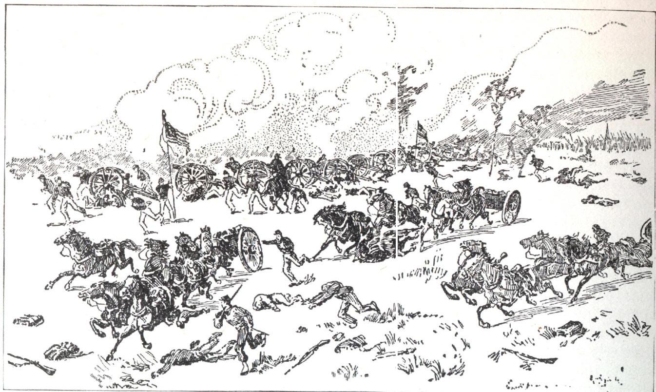 Bull clipart bull run. First battle of the