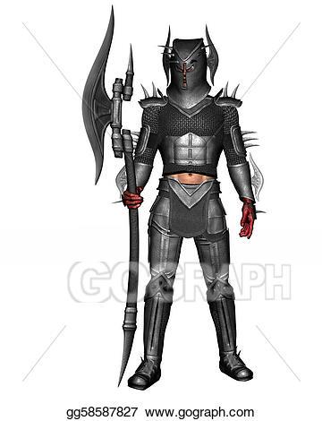 Drawing in armor gg. Battle clipart knight battle