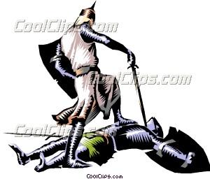 Battle clipart knight battle. Knights in clip art