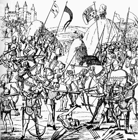 Hundred years gg world. Battle clipart medieval war