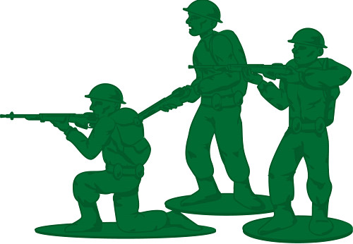 Army helmet silhouette at. Soldiers clipart group soldier