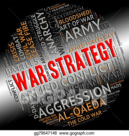 Battle clipart military. Stock illustration war strategy