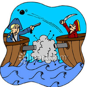 Cartoon free download best. Battle clipart pirate ship