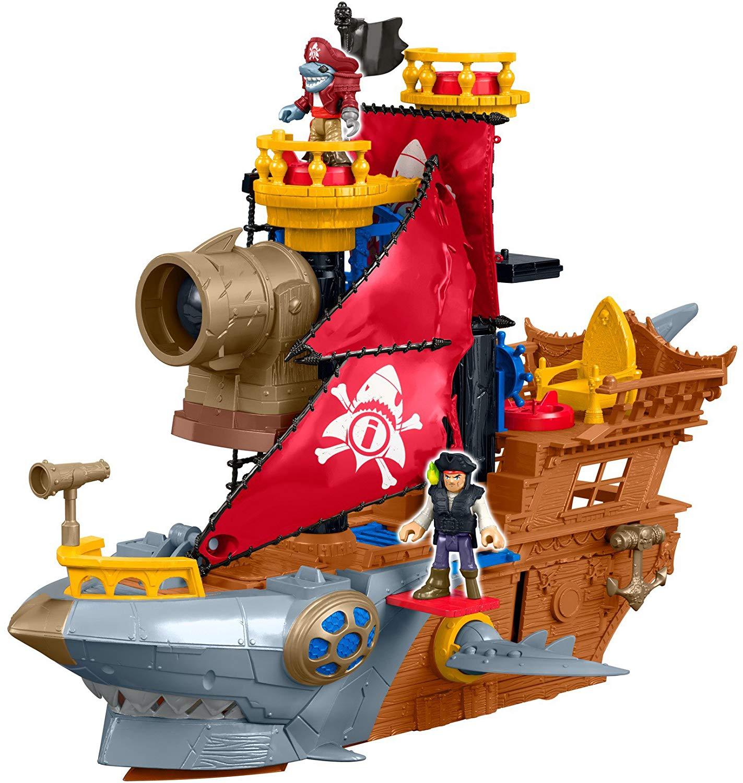 Amazon com fisher price. Battle clipart pirate ship