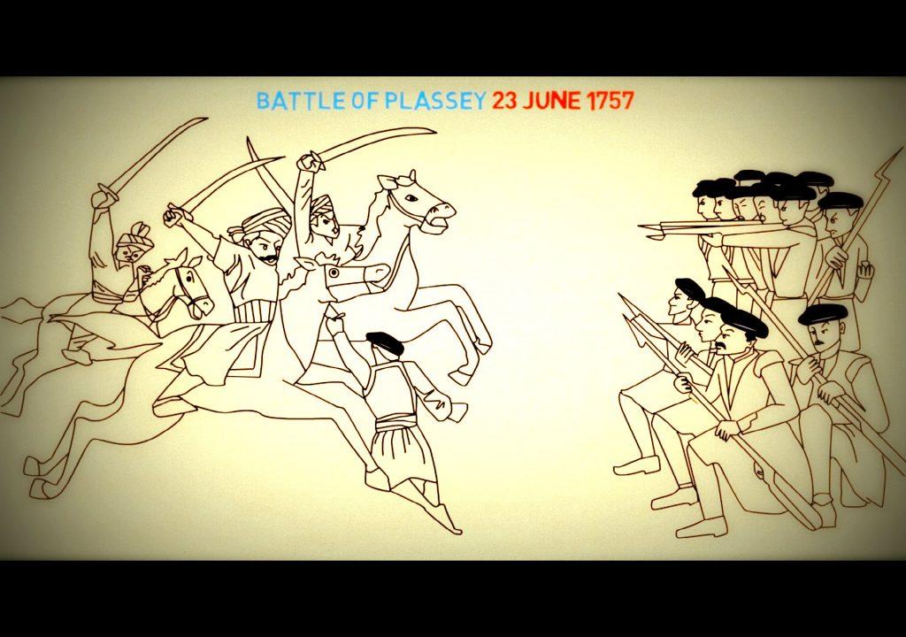 Conquest of bengal glimpses. Battle clipart plassey