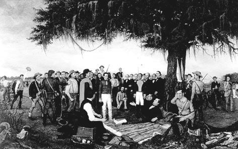 The of tslac surrender. Battle clipart san jacinto