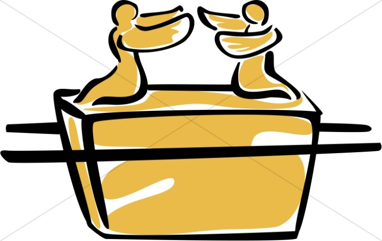 Ark of the covenant. Battle clipart simple