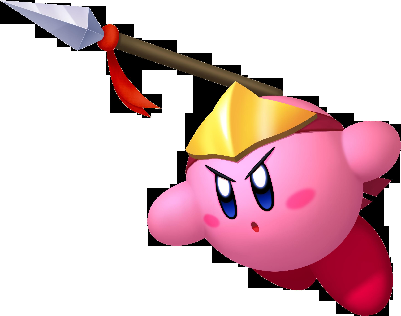 Battle clipart spear. Kirby nintendo fandom powered
