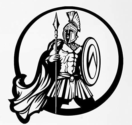 Battle clipart spear. Amazon com ancient greek