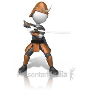 Battle clipart sword fight. Samurais fighting