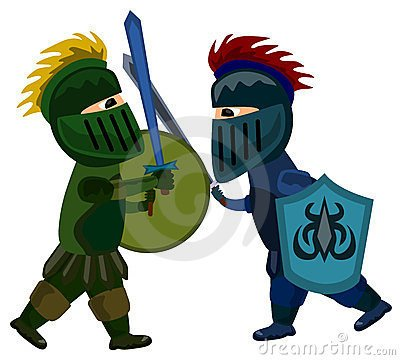 Battle clipart sword fight. Son the great sonthegreat