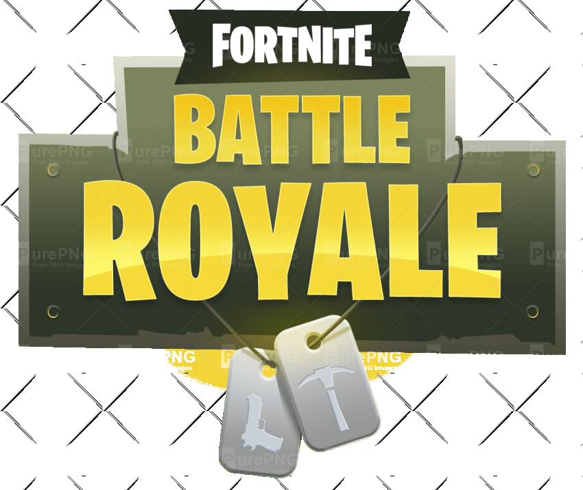 Battle clipart transparent background. Fortnite royale logo png