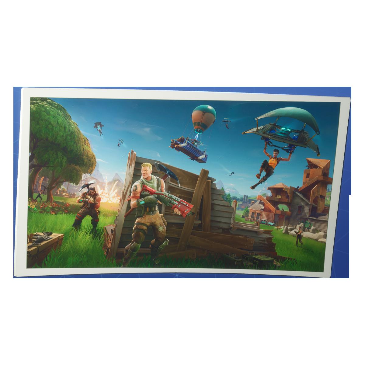 Fortnite royale png image. Battle clipart transparent background