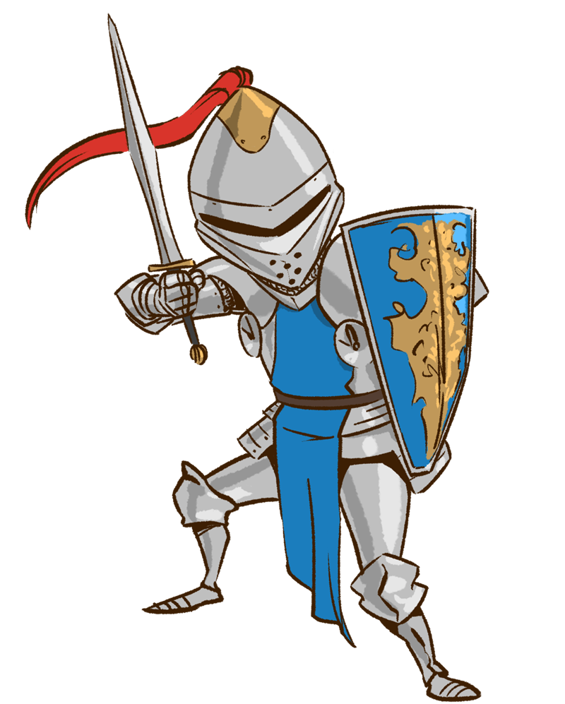 Warrior clipart medieval warrior. Pic knight battle image