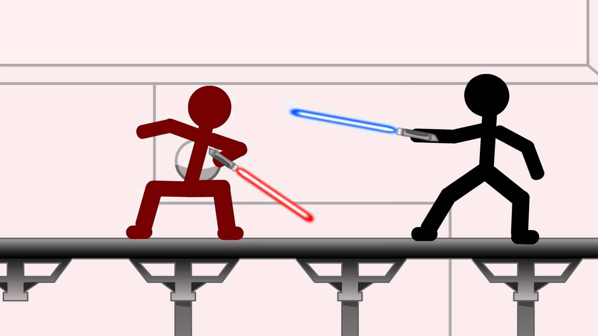 Battle clipart war fighting. Star wars stick figure