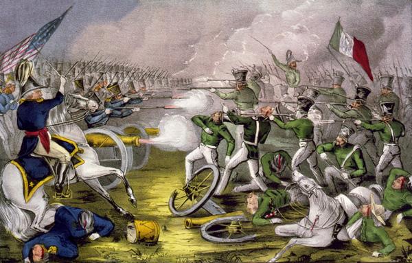 Battle war mexican