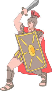 Army clipart roman. Daily life in the