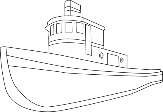 Boat clipart outline. Ship drawing at getdrawings