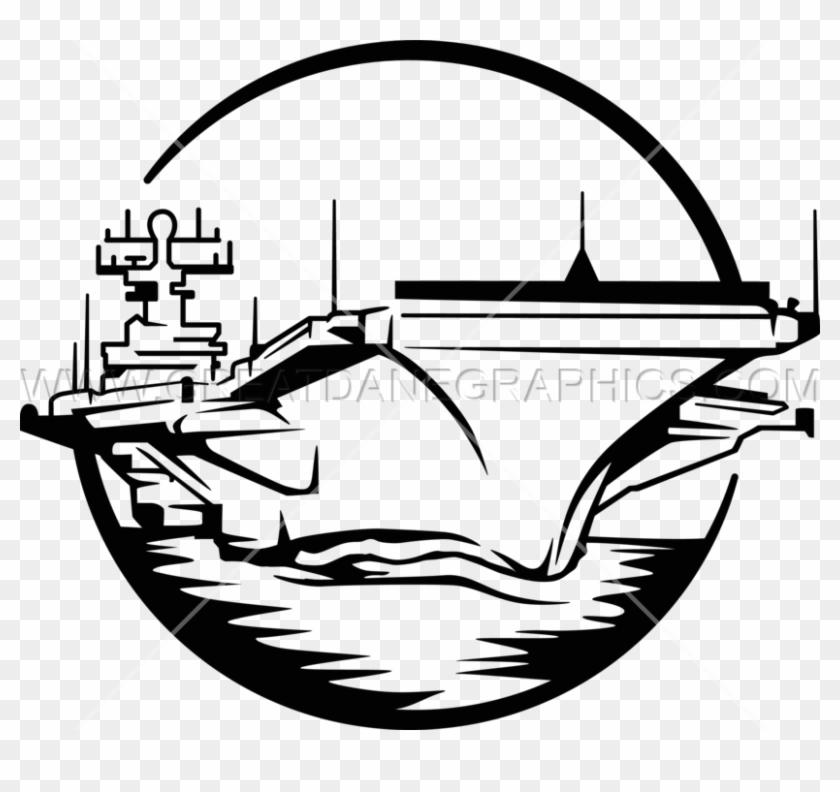 Battleship clipart black and white. Carrier ship aircraft