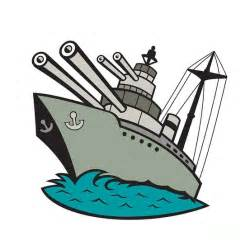 Ship clip art images. Battleship clipart comic
