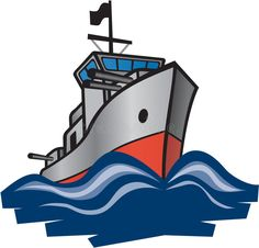 A navy man in. Battleship clipart comic