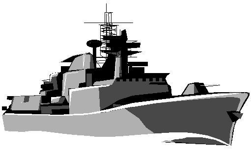 Navy clipart warship. Battleship animated pencil and