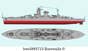 posters and art. Battleship clipart navy boat