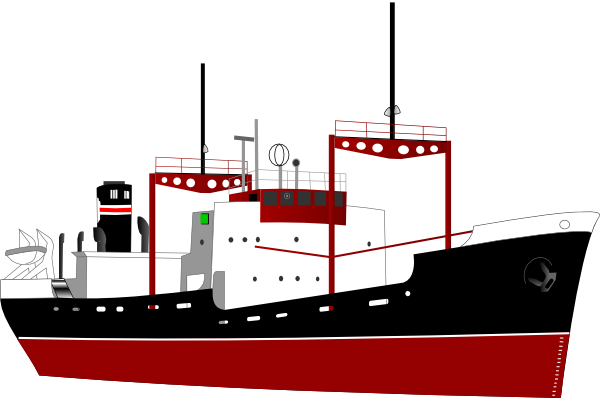 Boats clipart logo. Freighter panda free images